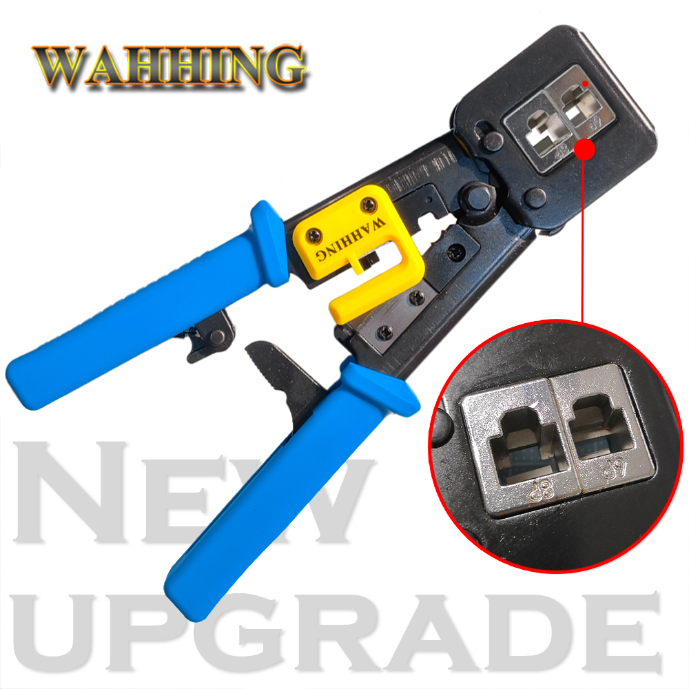 Network Tool RJ 11 12 45 Cable UTP Crimper Strip Cut Ethernet Telephone Engineer