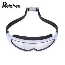 Relefree Anti Fog UV Protection Kids Swimming Goggles Teenagers Adjustable Waterproof Swimming Glasses for Children Girl / Boy(China)