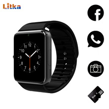 Smart Watch GT08 Clock Bluetooth Connectivity Android phone Support SIM Card Sync Notifier Push Messages Smartwatch TF Card Hour