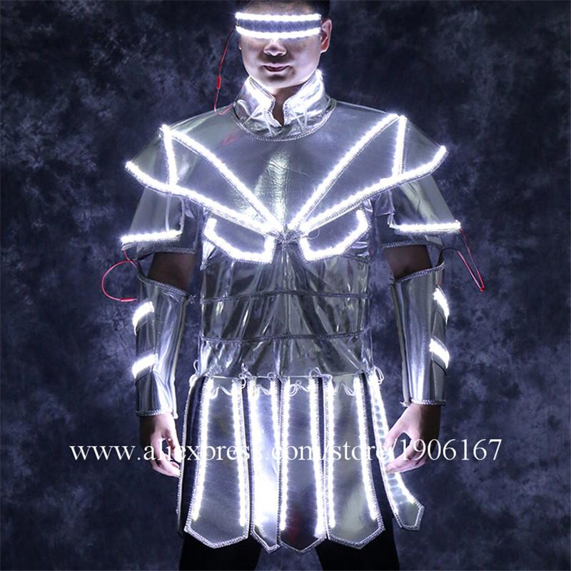Led luminous stage dance wear1