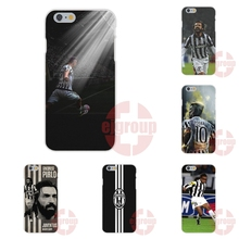 Soft TPU Silicon Covers For iPhone 4S 5S SE 6S 7S Plus For Galaxy A3 A5 J3 J5 J7 S4 S5 S6 S7 2016 Juventus Football Clum FC