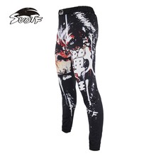 SUOTF MMA boxing sports fitness personality breathable loose large size shorts Thai fist pants running fights  kickboxing MMA