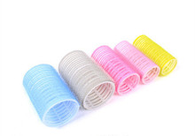 New Arrival 6 x Large Magic Velcro Cling Hair Rollers Curlers Hair Style Salon DIY 4.8cm Diameter(China)