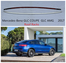 Auto Roof Racks Luggage Rack For Mercedes-Benz GLC COUPE GLC200-GLC300 GLC AMG 2017 High Quality Aluminium Car Accessories