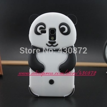 Cute Panda Style case for Samsung galaxy S3 mini Soft rubber silicone cell phone for samsung galaxy S3mini i8190 cases(China)