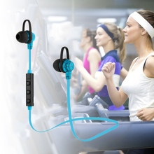 Bluetooth 4.1 Wireless Stereo Earphone Earpiece with Mic Crack Headphones Hand Free Universal Earbuds for iPhone Samsung Xiaomi