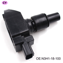 YAOPEI 4 pcs IGNITION COIL for Mazda RX-8 1.3L-R2 OE part number N3H1-18-100 N3H1-18-100B-9U UF501(China)