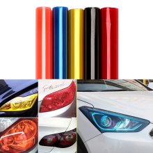 30cm*60cm Car Light Film Wrap Sheet Car Stickers Auto Headlight Taillight Tint Vinyl Film Cover Car Styling Exterior Accessories(China)