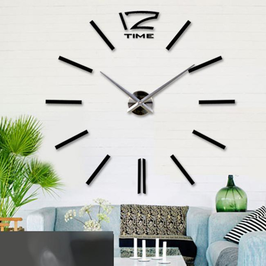 Large Black Wall Clock large black wall clocks promotion-shop for promotional large black