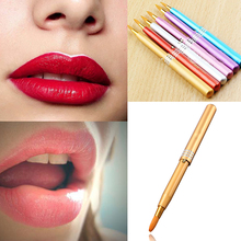 Women Portable Makeup Lip Brushes Retractable Cosmetic Lip Brush Make Up Lipstick Gloss Beauty New Makeup Brushes Lip M01569