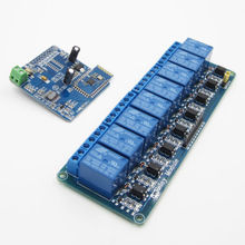8CH Bluetooth Relay Mobile Remote Control Switch Motor +5V Relay Module(China)