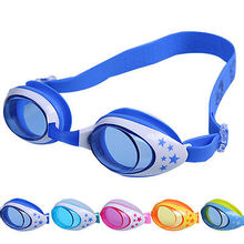 Children Boy Girl Soft Silicone Swimming Goggles Kids Safety Outdoor Eyewear Anti-fog Waterproof Swim Glasses children(China)