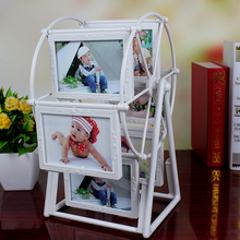 5 inch photo frame European windmill Frame plastic combination 12 photos Home Decor New Gift Creative decorations