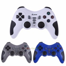 New Wireless RF 2.4GHz Game Console Remote Control RC Gamepad for PS1 PS2 PS3 PC 0322(China)