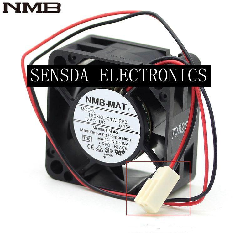 NEW NMB-MAT 1608KL-05W-B49 fan 24V 0.07A 3 Pin 40*40*20mm cooling fan