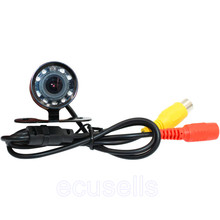 New Car CMOS Camera Super Mini Car Rear View Butterfly Camera Auto Parking Back Up Reversing Camera 150 Degree Waterproof
