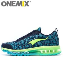 2017 Onemix Hot sale men's & women's breathable Max conformtable weaving athletic outdoor Sport Athletic Sneakers Running shoes