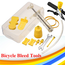 New Arrival Portable Bike Bicycle Hydraulic Disc Brake Bleed Tool Kit Set Sports Riding Cycling Repair Tools For SHIMANO TEKTRO