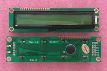 NoEnName_Null Standard 1601 Character Yellow Green Backlight LCD Module Compatible 1602 LCD(China)