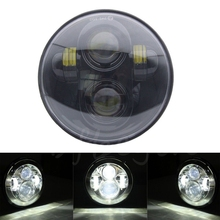 Buy 40w 5-3/4 5.75 '' inch black Daymaker Projector LED Headlight Bulbs Harley Davidson Dyan Superglide Sporster 1200 Motorcycle for $34.03 in AliExpress store