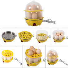 220v High Quality New Generic Multi-function Electric Egg Cooker for up to Eggs Boiler Steamer Cooking Tools Kitchen Utensil