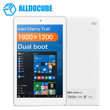 8 inch Cube iwork8 air Tablet PC Dual Boot Windows10 + Android 5.1 1920*1200 Cherry Trail Z8350 Quad Core 2GB 32GB HDMI