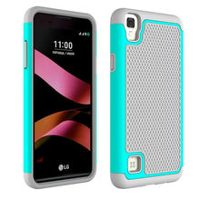 "For LG X Style 5.0"" Hybrid Armor Rugged Rubber Shockproof Phone Case For LG X Style Protective Football Cover Case"