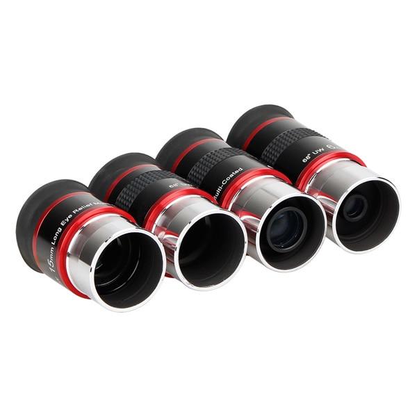 FMC 1.25 Eyepiece Set 68-Degree Ultra Wide Angle Eyepiece (6)