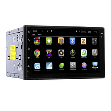 "7""Android 5.1 Quad Core 1G*4 2din Car Video Player 1024*600 Resolution GPS Navigation with Wifi Mirror Link Car PC 1080P Video"