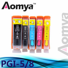 Full Refillable ink cartridge PGI-5 BK CLI-8 Series For Canon PIXMA iP4200/3300/3500/4200R/4300/4500/5200/5200R/5300 printers(China)