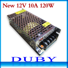 12V 10A 120W Switching power supply Driver For LED Light Strip Display AC100-240V  Factory Supplier free shipping