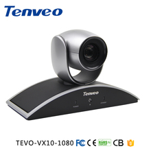 Tenveo 1080P 720P USB PTZ Video Conference Room Camera with 10x Optical Zoom 360 Rotation Support Skype,MSN,Wechat, whatsapp