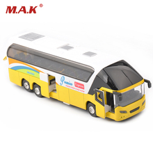 1/32 Diecast Car New York Double Decker Sightseeing Tour Bus Model Collectionable Kids Gift W/light&sound F(China)