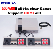 MYOHYA HDMI Output Retro Classic handheld game player Family TV video game console Childhood Built-in 500/600 Games mini Console(China)