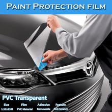 CARLIKE Clear PVC PPF Protective Sticker Transparent Car Paint Protection Film