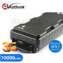 10000mAh Big Battery Waterproof Magnet Portable 3G GPS Tracker HSDPA/UMTS/EDGE/GPRS/GSM 1900/850/2100/900 MHz TK10GSE(China)