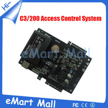 Free softwareTcp/ip Network C3-200 Intelligent TWO-door Two-Way Door Access Control Panel for TWO  Door Control