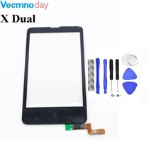 Vecmnoday Original High Quality 4.0 '' For Nokia X Dual SIM RM-980 Touch Screen Digitizer Sensor Front Glass Lens panel + tools(China)