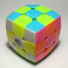 New Arrival Yuxin Stickerless 3x3 Pillow Cube Toys Round Bread Magic Cube 3x3x3 Speed Puzzles Educational Toys Special Toys(China)