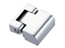 Nano matt white small positioning hinge, white zinc alloy damping hinge, 180 degrees any stop