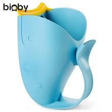 Baby Bath Caps Cartoon Whale Cup Bath Tear Free Waterfall Rinser Kids  Shampoo Cup Children