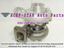 TA3120 466854-0001 466854-5001S 466854 2674A153 267A160 2674A394 2674394 Turbo For Perkin Truck Diverse T4-40 T4.40 For JCB 4.0L