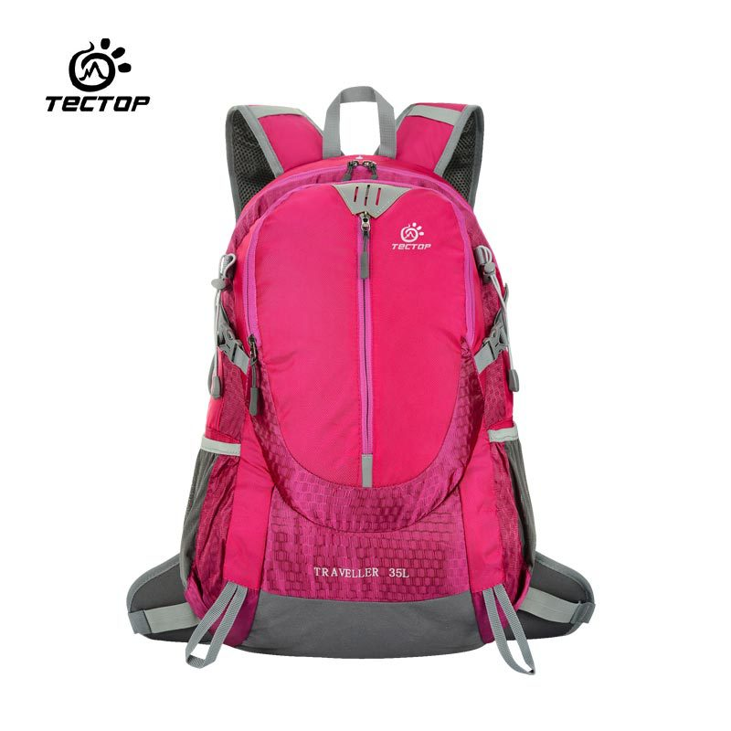 New 35L Outdoor Sport Backpacks Women Men Unisex Double-shoulder Mountaineering Backpacks Multifunctional Travelling Hiking Bags<br>