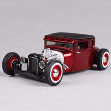 Alloy Car Toy 1/24 1929 Modified Diecast Model Car Kids Toys Christmas Gift Collection(China)