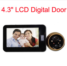 "High Quality Household Electronic Doorbell 4.3 "" TFT display Door Viewers Digital Peephole Viewer"