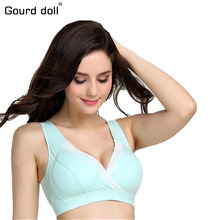 New34-40 Breastfeeding cotton Maternity Nursing Bra sleep bras for nursing pregnant women soutien allaitement underwear clothing