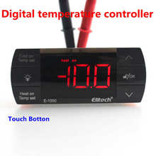 Buy AC220V 10A Digital Temperature Controller Cooling Heating Auto Switch Thermostat Regulator Defrost Light Control NTC Sensor for $19.95 in AliExpress store