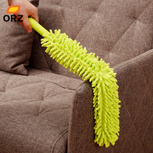 ORZ Creative Chenille Duster Car Window Conditioner Furniture Dust Cleaner Home Appliances Cleaning Tools Feather Brush(China)