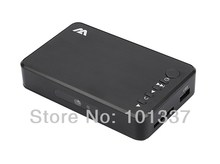 New Full HD 1080P USB External HDD Media Player with HDMI VGA SD Support MKV H.264 RMVB WMV Aluminum Shell(Hong Kong)