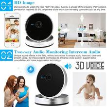 Network IP Camera WiFi Wireless 720P HD IR Night Vision Two Way Audio Cam mini camcorder